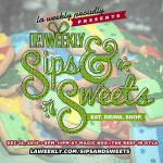 Win a pair of tixs to laweeklys holiday party SipsAndSweetshellip