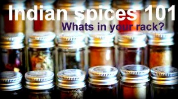 Indian Spices 101. What's in your rack?