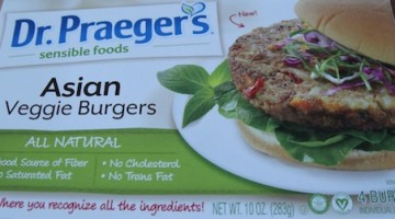 Asian Veggie Burger (Vegan)