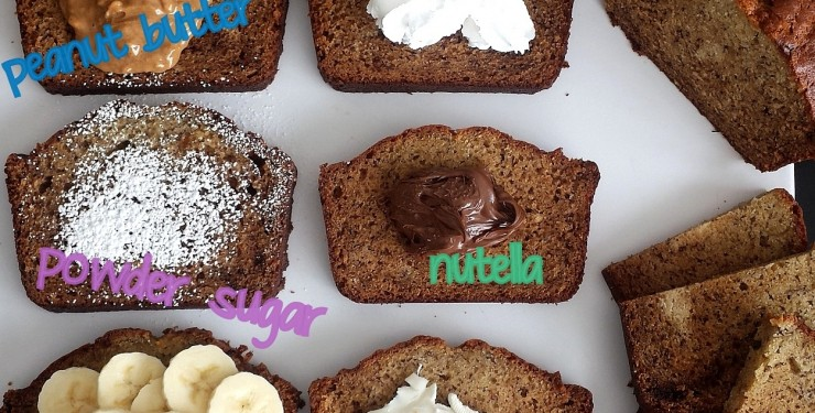 Banana Bread Toppers