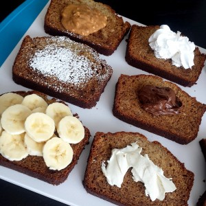 Banana Bread Toppings
