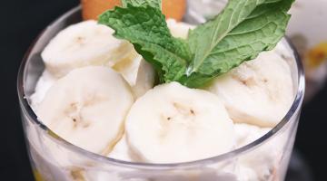 Banana Creme Parfait