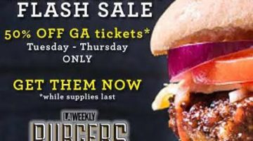 FLASH SALE! Burgers and Beer