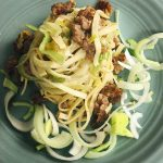 Sausage and Leek Linguine | Chef Jay Recipe LIVE