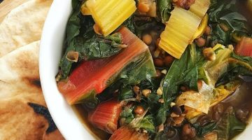 Lentil and Rainbow Chard Soup | Recipe
