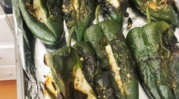 Roasted Poblano Peppers | Recipe