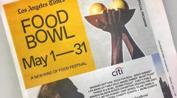The Food Bowl | A Month Long Food Festival