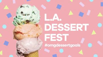 Dessert Goals takes over Cooper Design Space 6-17