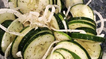 Spicy Summer Cucumber Salad