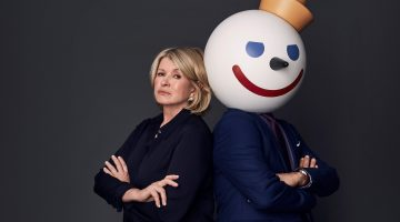 Martha Stewart and Jack In The Box in SuperBowl Feud