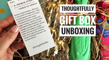 """UNBOXING   Thoughtfully Gift Set """"Cirque Du Sweets""""   VIDEO"""