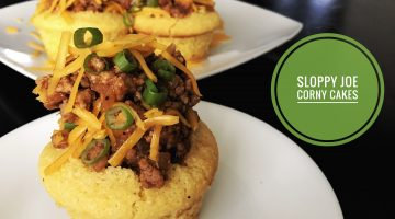 Corny Cakes aka Cornbread Sloppy Joe Cupcakes | RECIPE