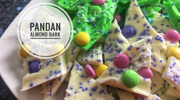 Pandan Almond Bark | VIDEO