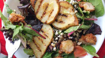 Roasted Pear Salad with Mustard Vinaigrette | RECIPE