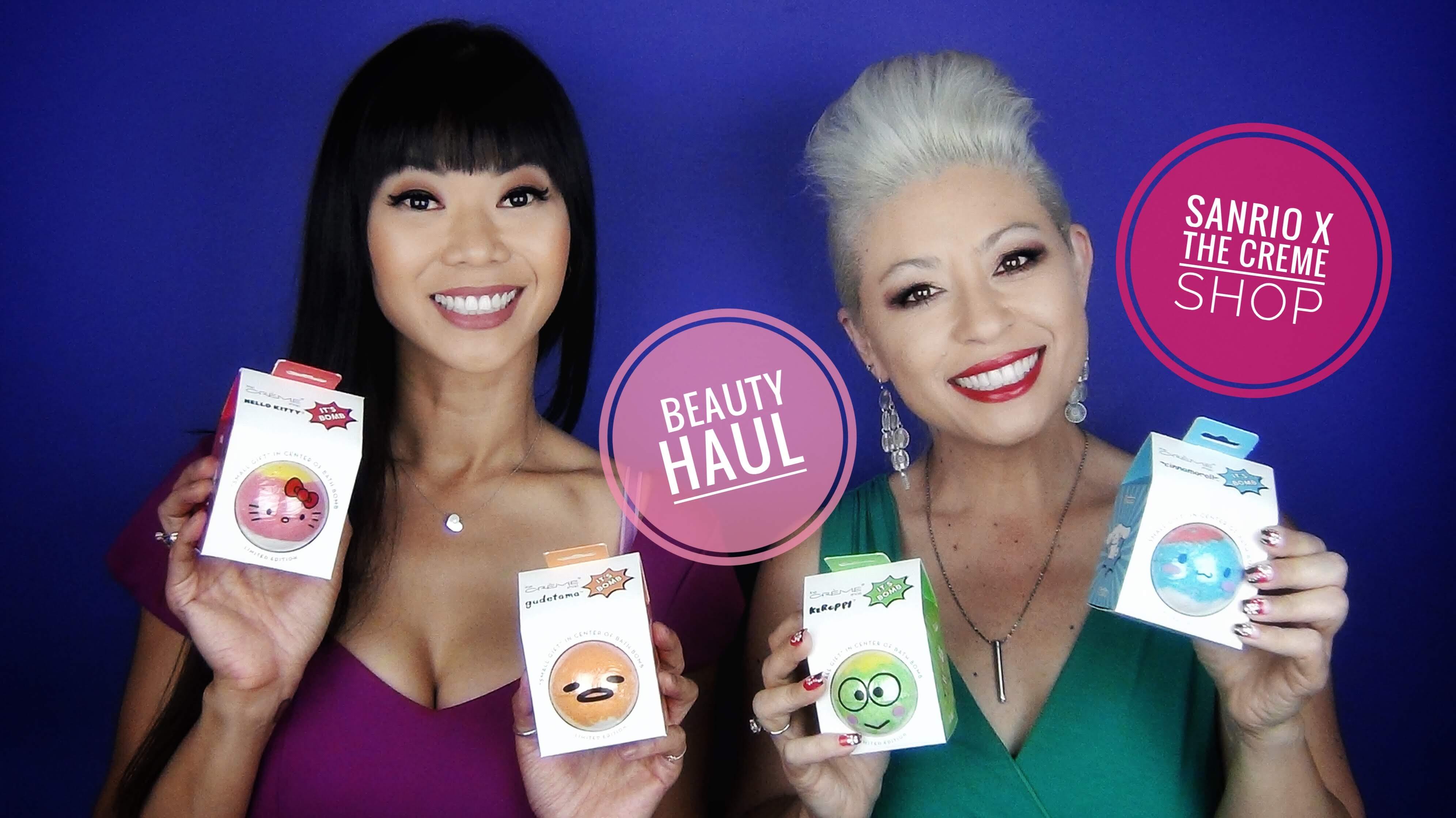 ce07cce7a Beauty Haul – Sanrio x The Creme Shop Collab
